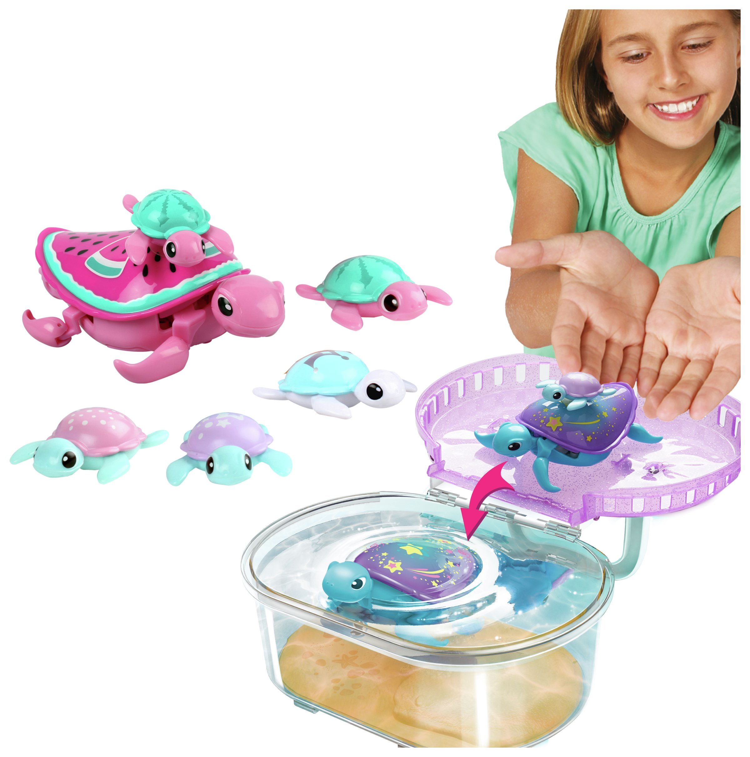Sale On Little Live Pets Swimstar Turtle Tank Special Set