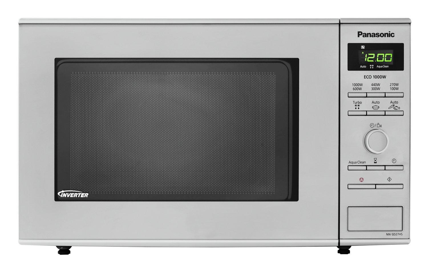 Panasonic 1000W Standard Microwave NNSD27HS - S.Steel