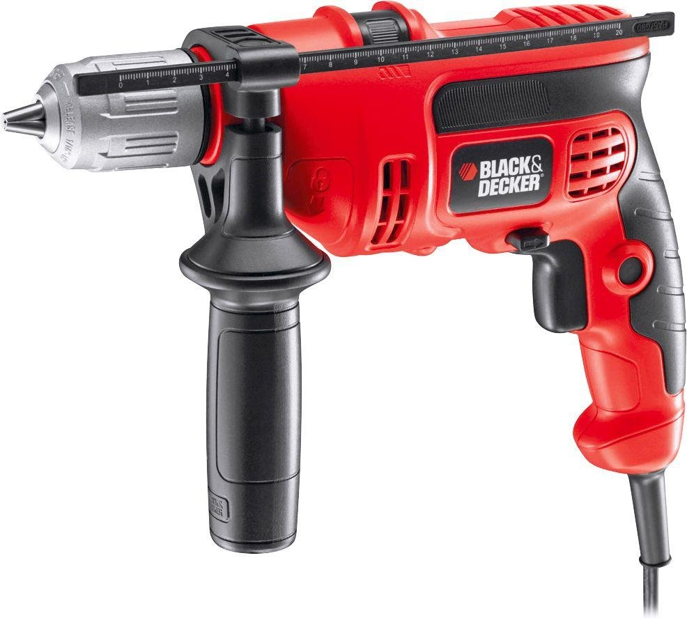 Image of Black and Decker - KR604CRESK Hammer Drill - 600W