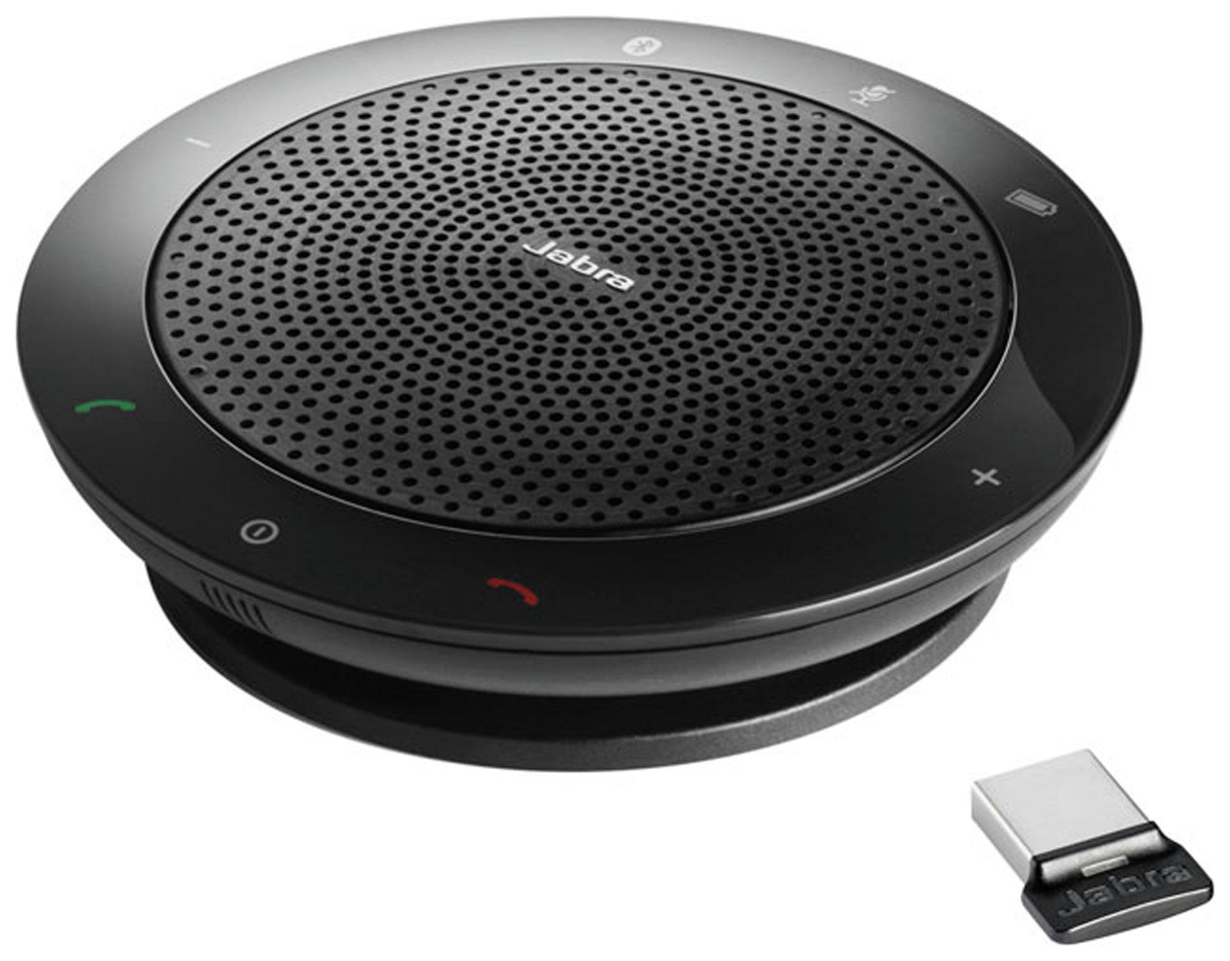 Image of Jabra Speak 510 Portable Stereo Speaker - Black.