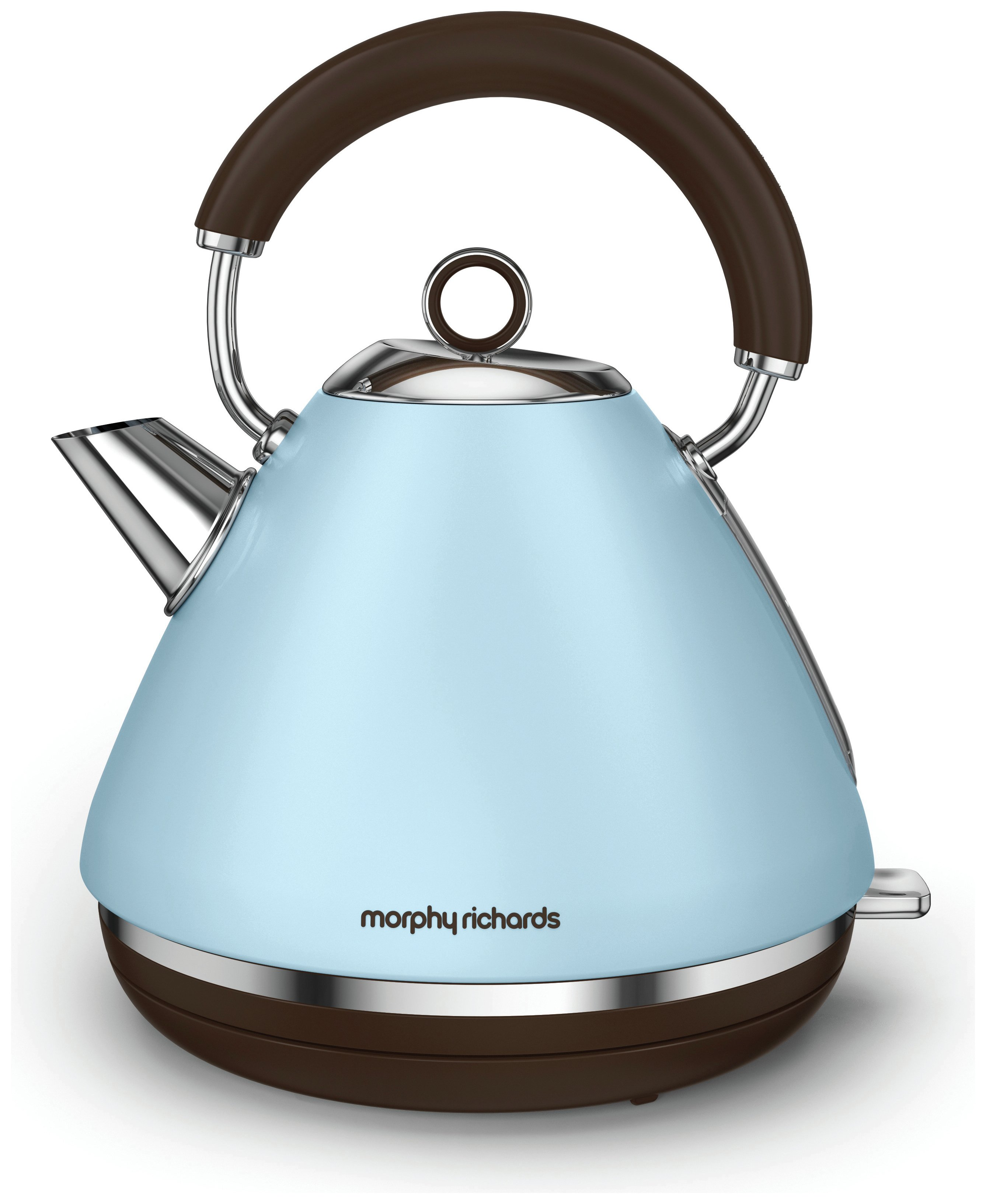 Morphy Richards Pyramid Accents Kettle Azure Kettles