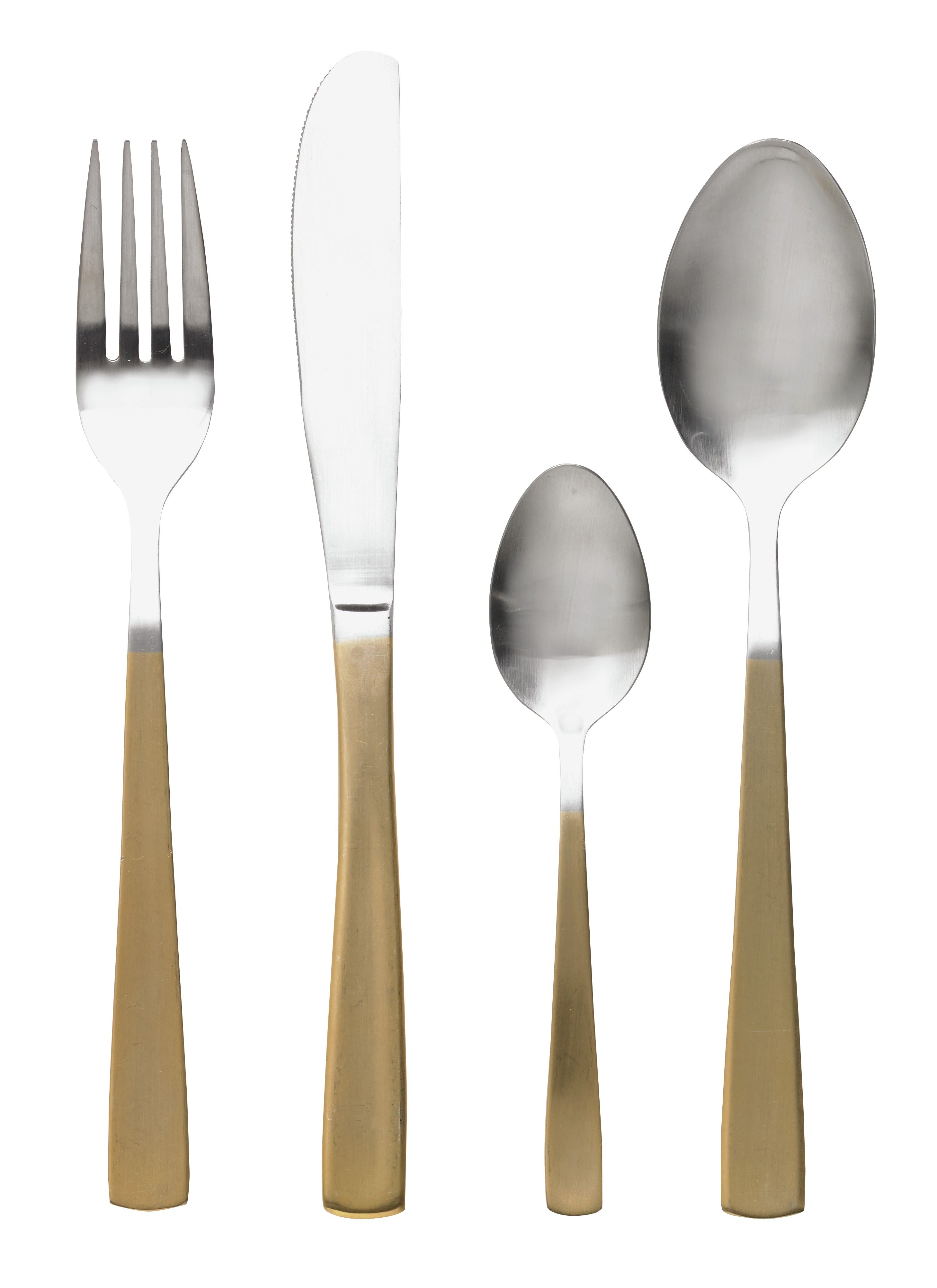 Image of Collection 16 Piece Two Tone Cutlery Set