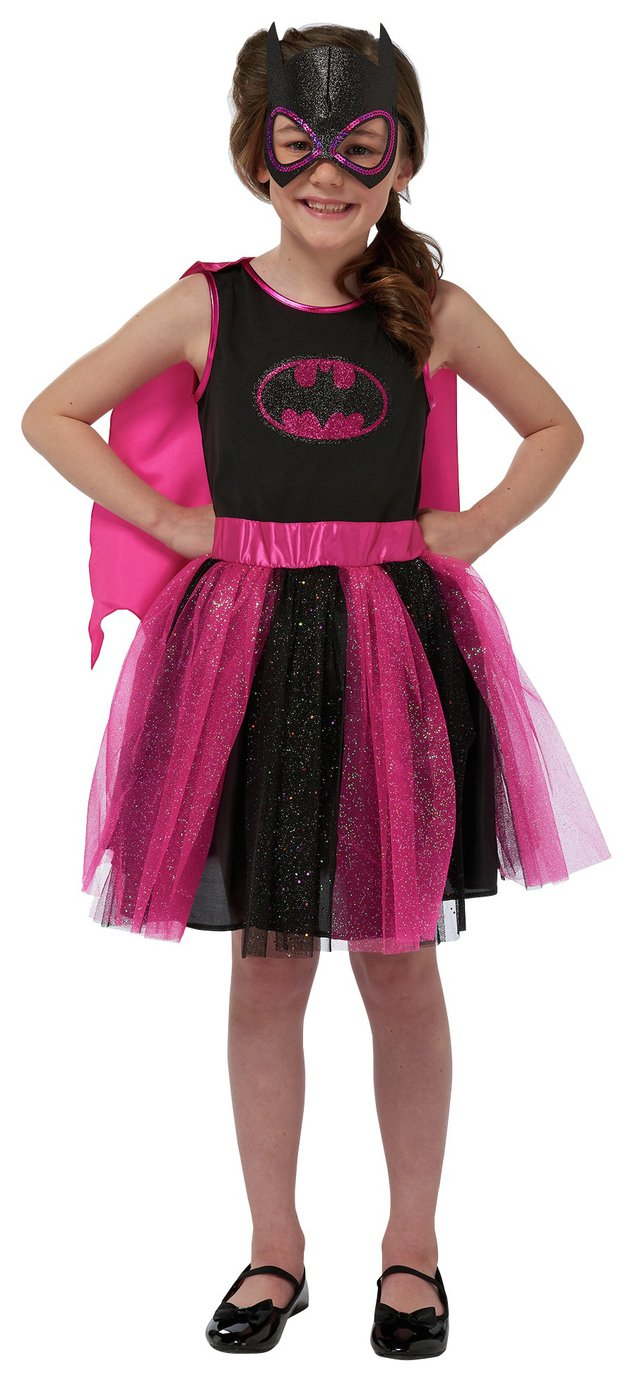 DC Batgirl Children's Fancy Dress Costume - 7-8 Years