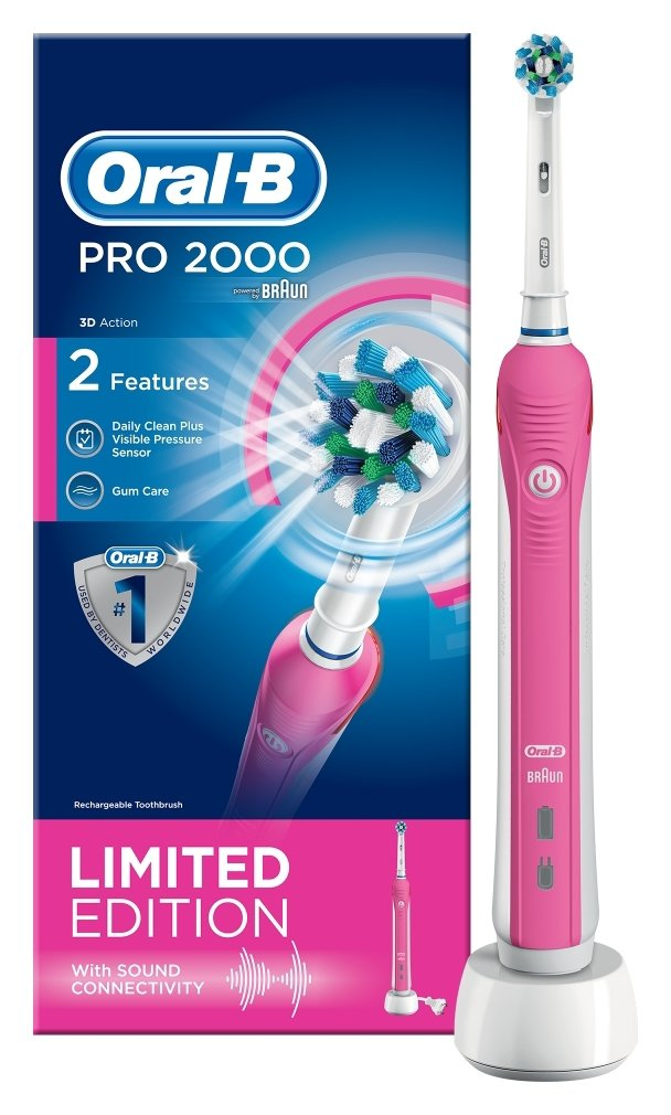 Oral-B Pro 2000W 3DWhite Electric Toothbrush