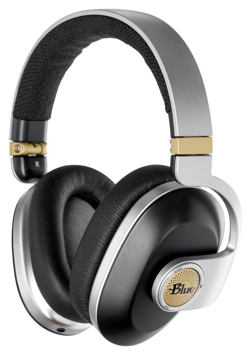 Image of Blue Microphones Over-Ear Wireless Headphones - Black.
