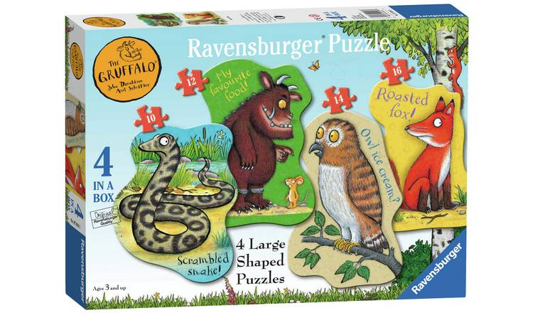 Ravensburger Gruffalo Large 4 Shaped Jigsaw Puzzle