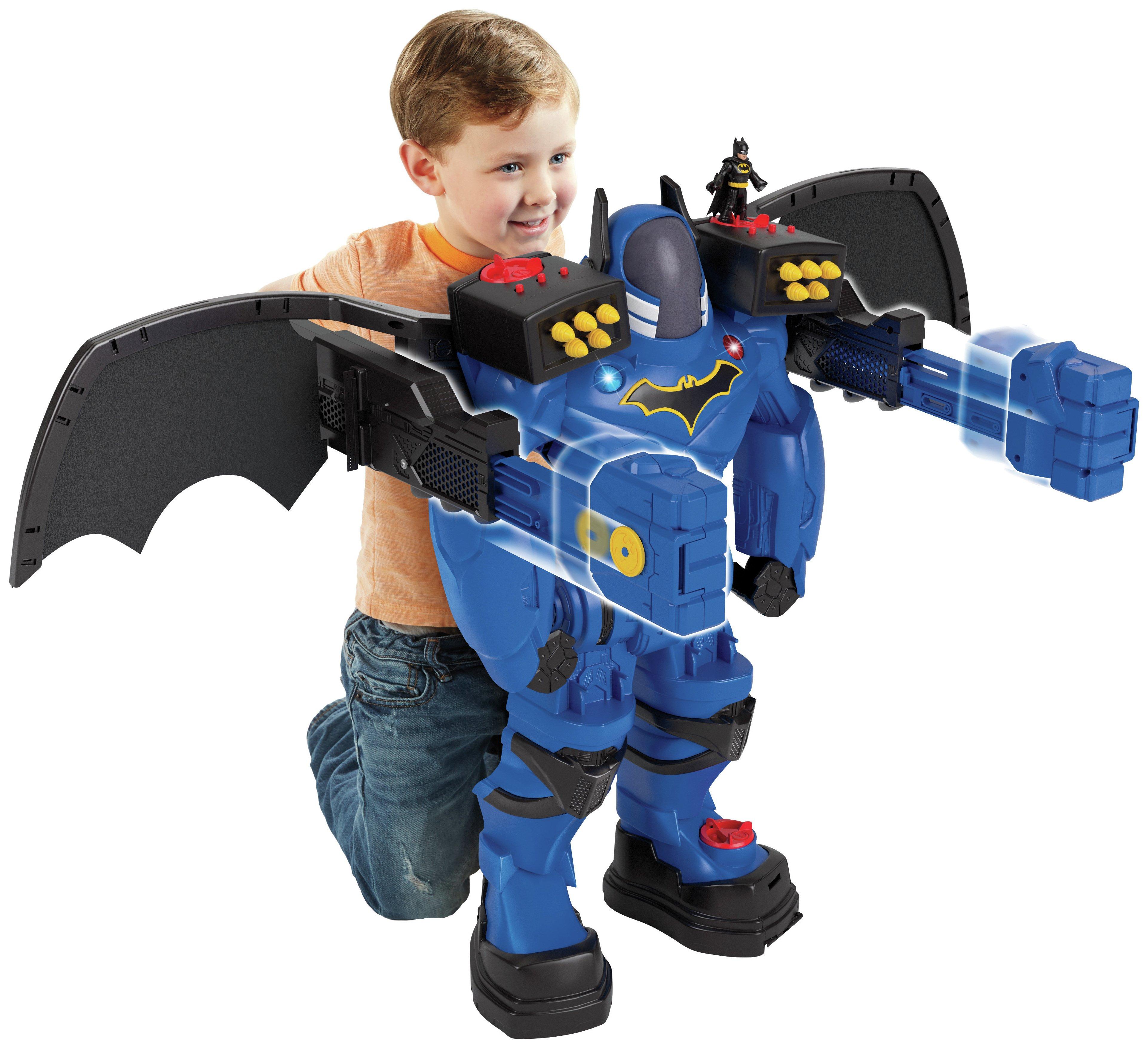 Image of Imaginext DC Super Friends Batbot Xtreme