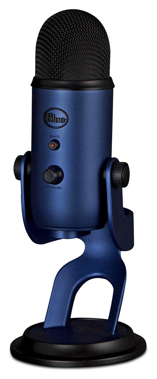 Image of Blue Microphones - Yeti USB Microphone - Midnight Blue
