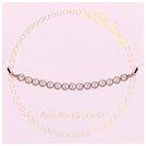 820e23e057d19 Buy Amelia Grace Rose Gold Colour Snake Chain Bracelet   Womens bracelets  and bangles   Argos