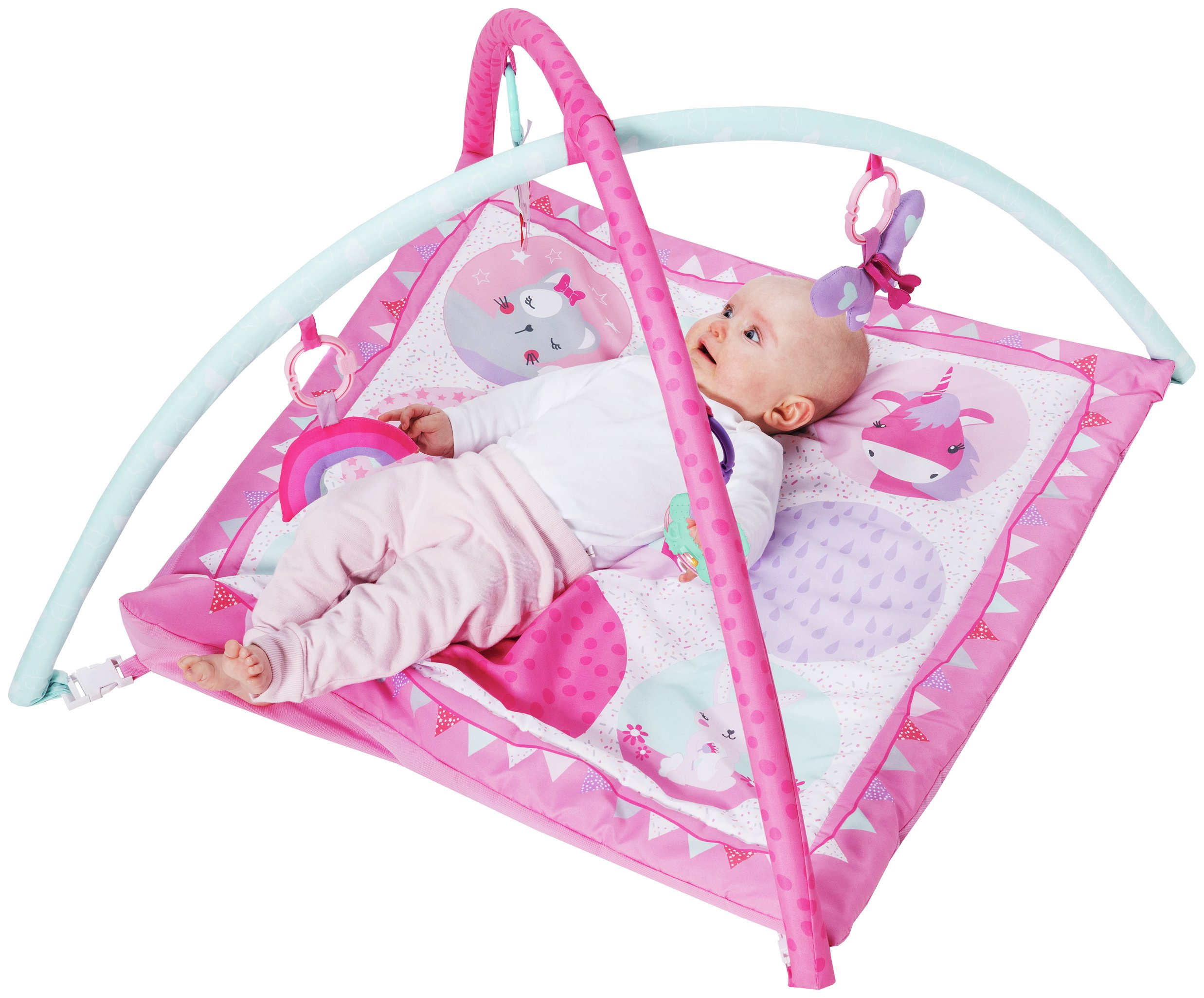 Chad Valley Baby Pink Dreamland Play Gym