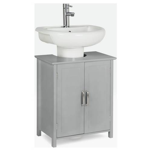 Phenomenal Buy Argos Home Tongue And Groove Undersink Storage Unit Grey Bathroom Shelves And Storage Units Argos Home Interior And Landscaping Ologienasavecom
