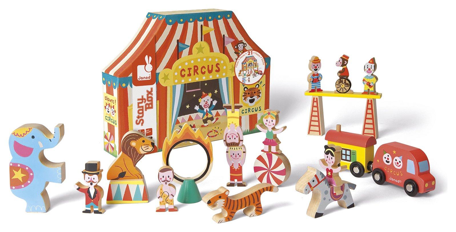 Alex Story Box Circus.