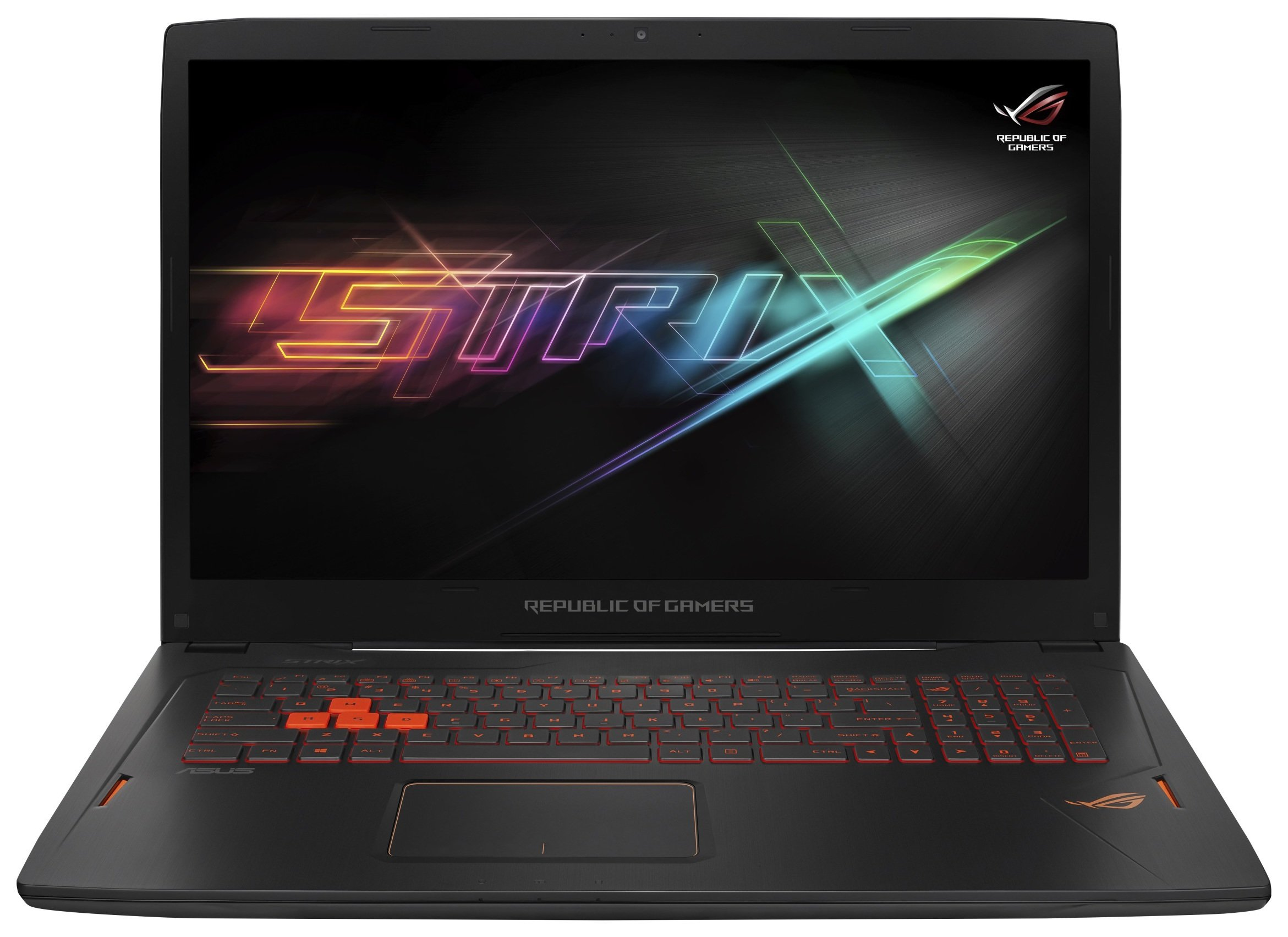Image of ASUS i7 17.3 In 16GB 128GB 1TB GTX1060 Gaming Laptop - Black