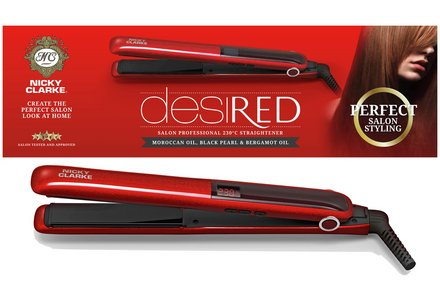 Nicky Clarke ISS248 DesiRED Salon Pro 230 Straightener