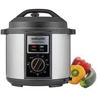 Cookworks Pressure Cooker with Manual Display