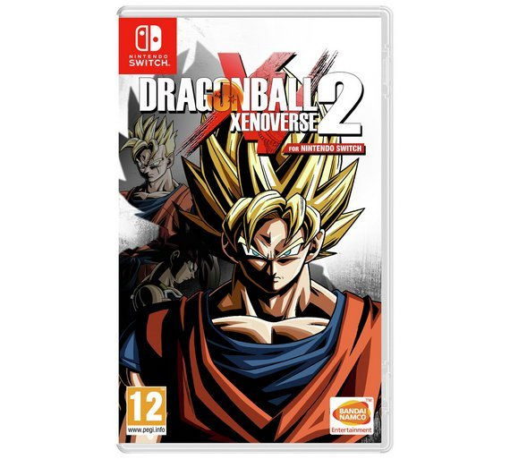 Image of Dragon Ball Xenoverse 2 Nintendo Switch Game