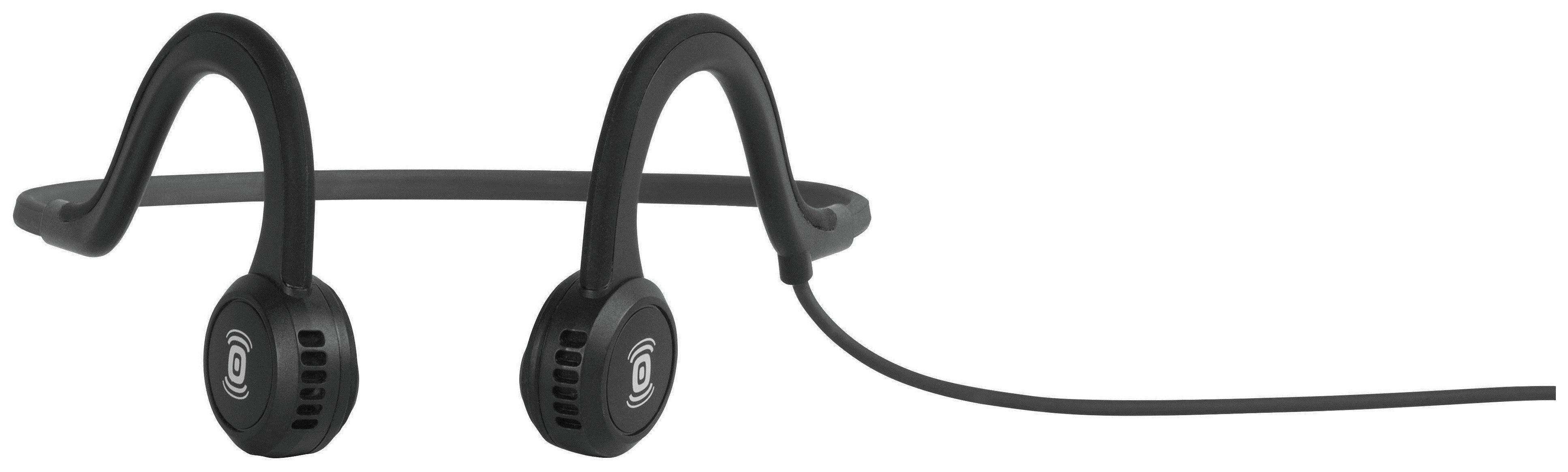 Image of Aftershokz Sportz In-Ear Sports Headphones - Black.