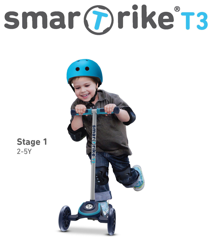 Buy Smartrike T3 T Scooter Blue Scooters Argos