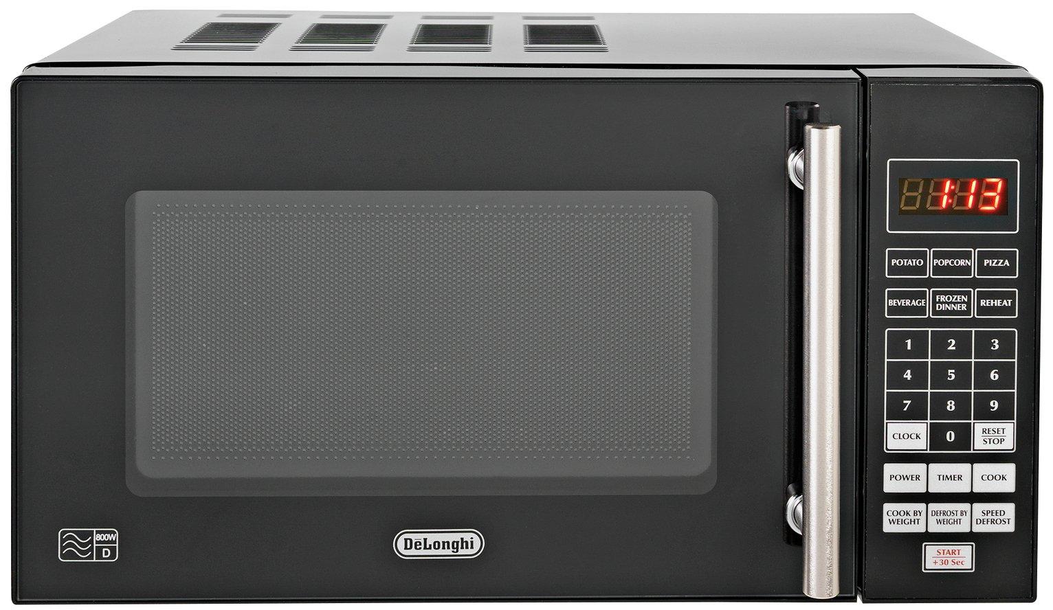 Image of De'Longhi 800W Standard Microwave P80Q7A - Black