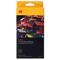 Kodak Mini Printer Ink and Paper Pack - 20 Sheets