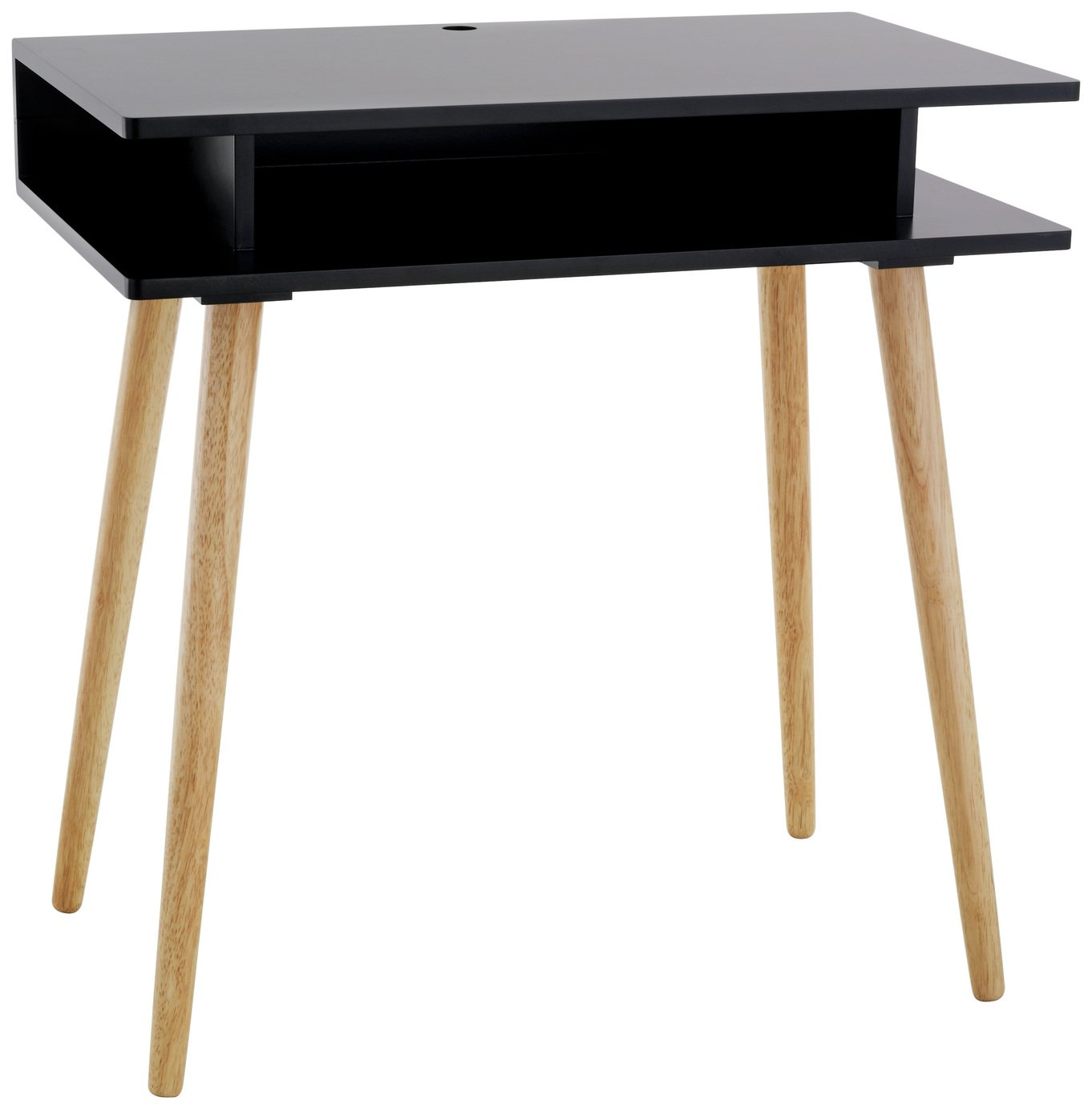 Image of Habitat Cato Desk - Black
