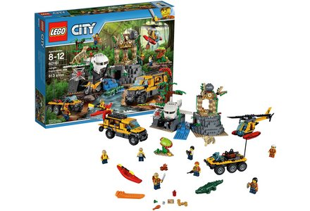 LEGO City Jungle Exploration Site - 60161.