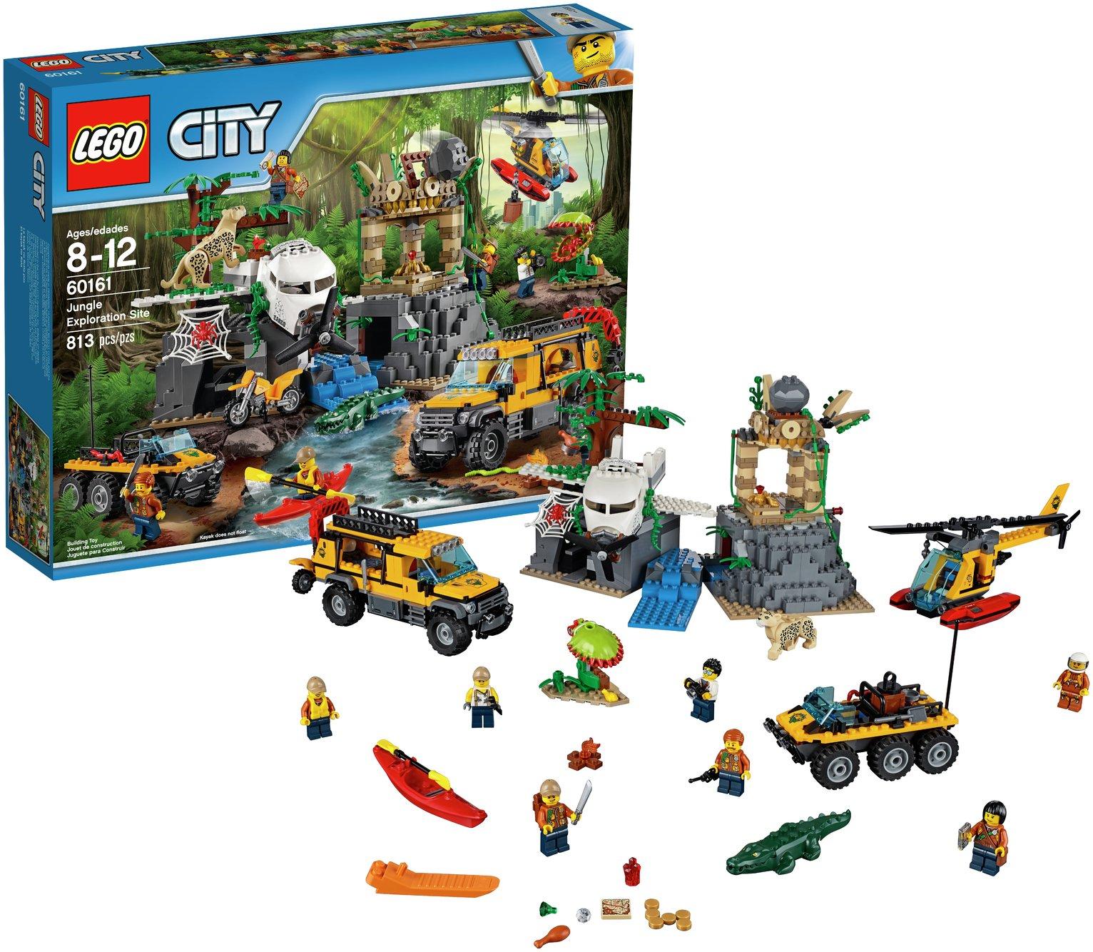 Buy LEGO City Jungle Exploration Site - 60161   LEGO   Argos