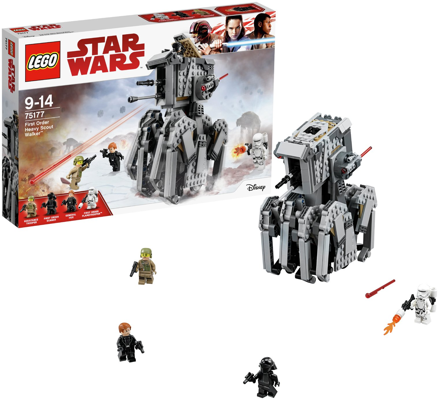 Image of LEGO Star Wars First Order Heavy Scout Walker - 75177