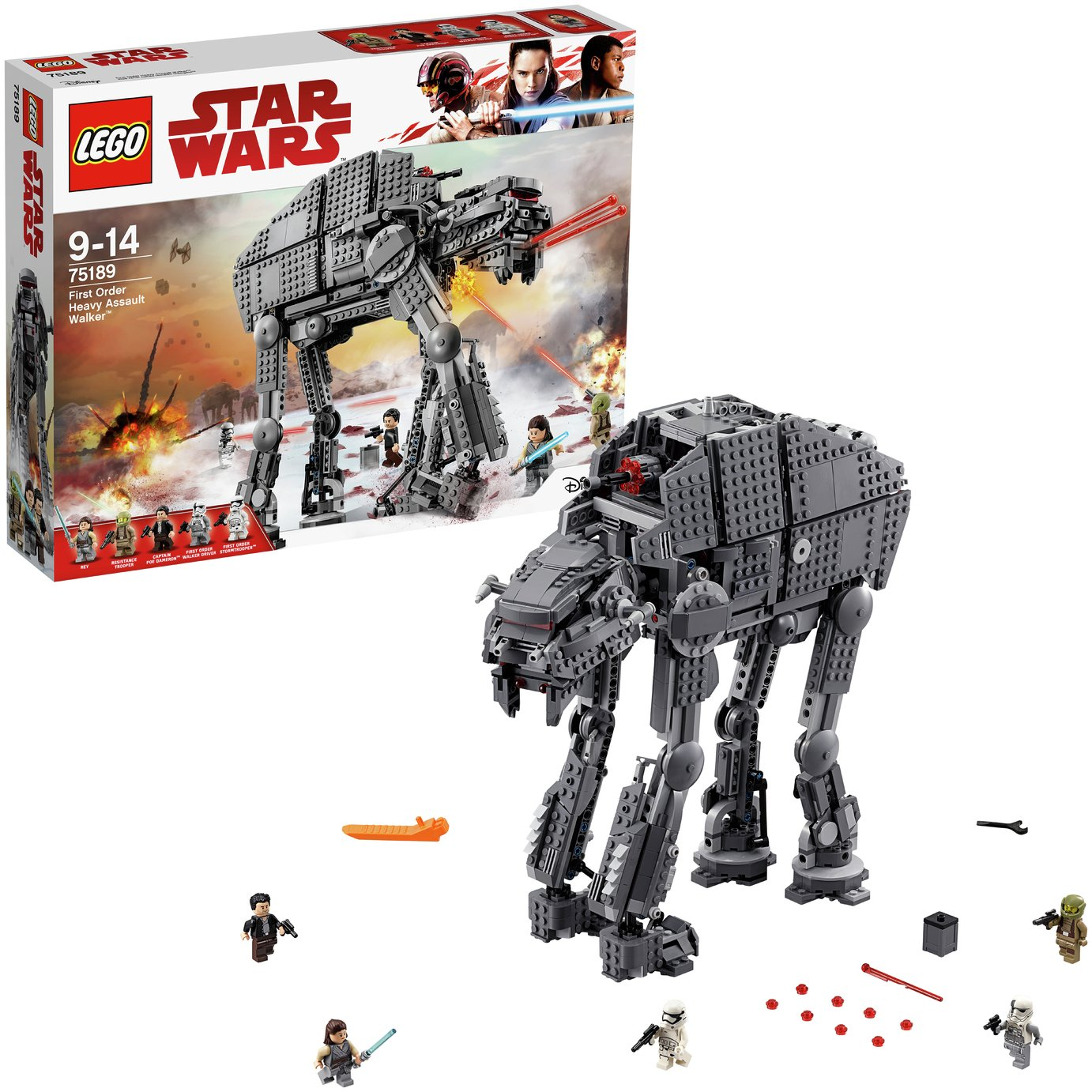 Image of LEGO Star Wars First Order Heavy Assault Walker - 75189