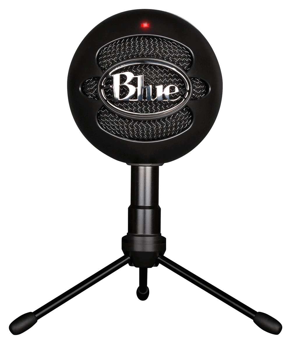 Image of Blue Microphones - Snowball USB Microphone - Ice Black