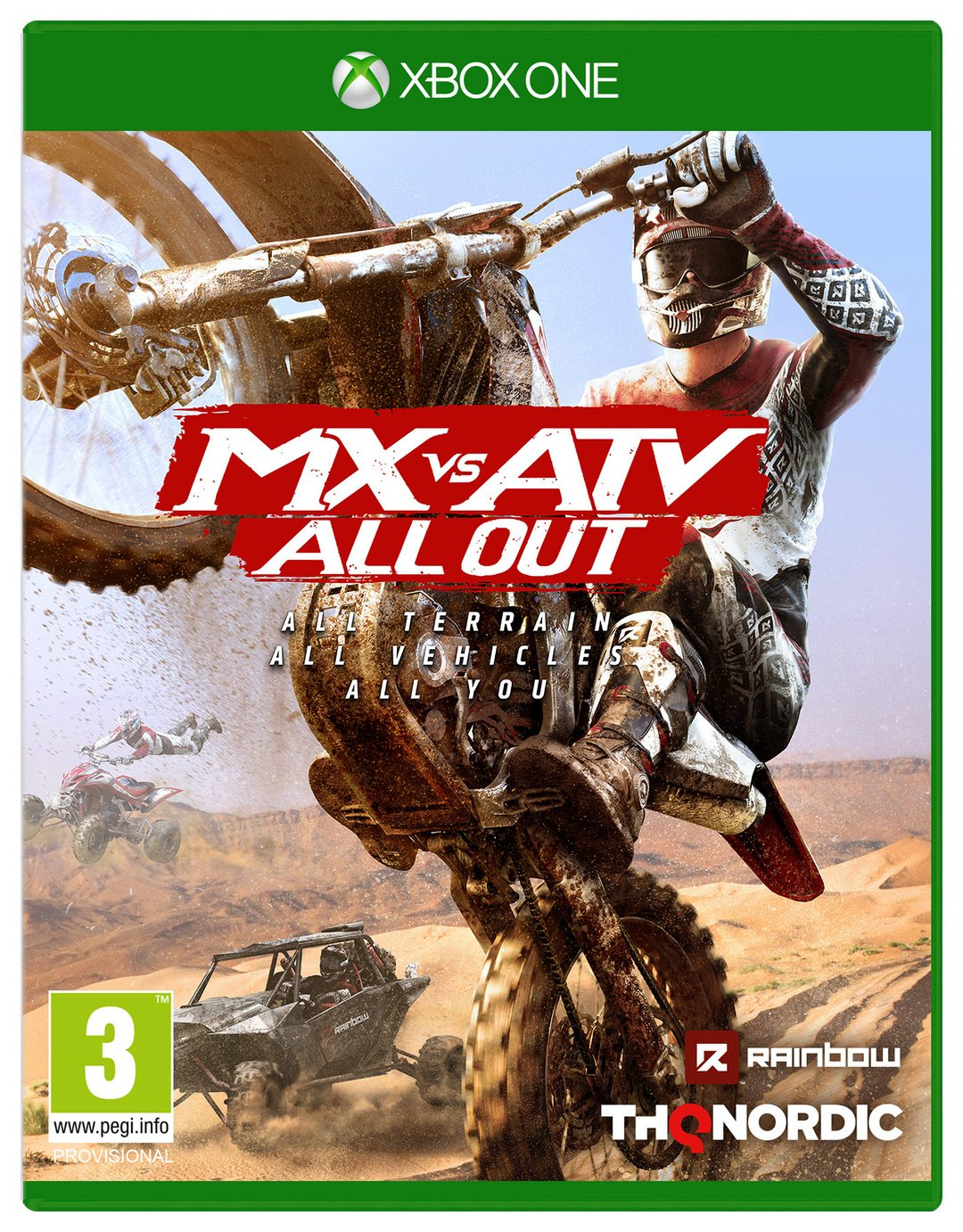 Image of MX vs ATV All Out Xbox One Game