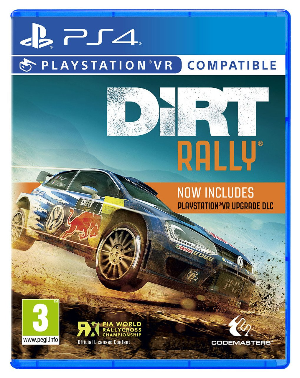 Image of Dirt Rally PS4 VR Game.