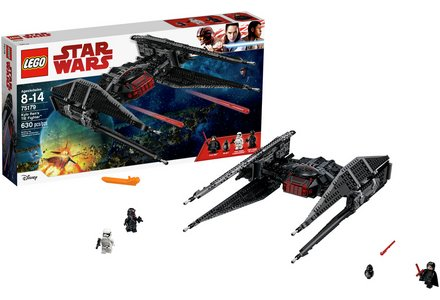 LEGO Stars Wars Kylo Ren's TIE Fighter - 75179.