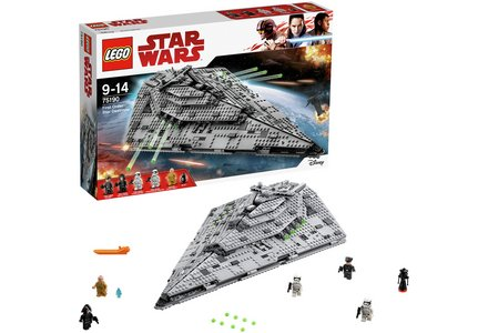 LEGO Star Wars First Order Star Destroyer - 75190.