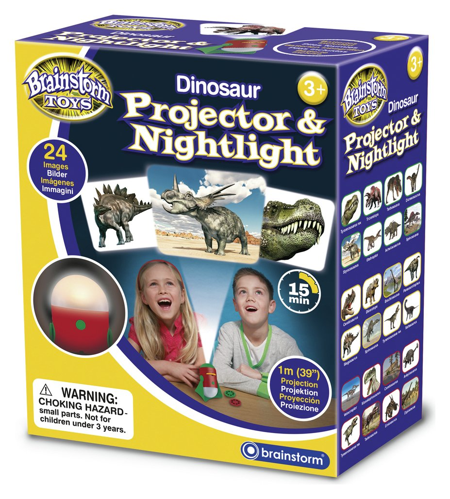 Image of Brainstorm Toys Dinosaur Projector and Nightlight.