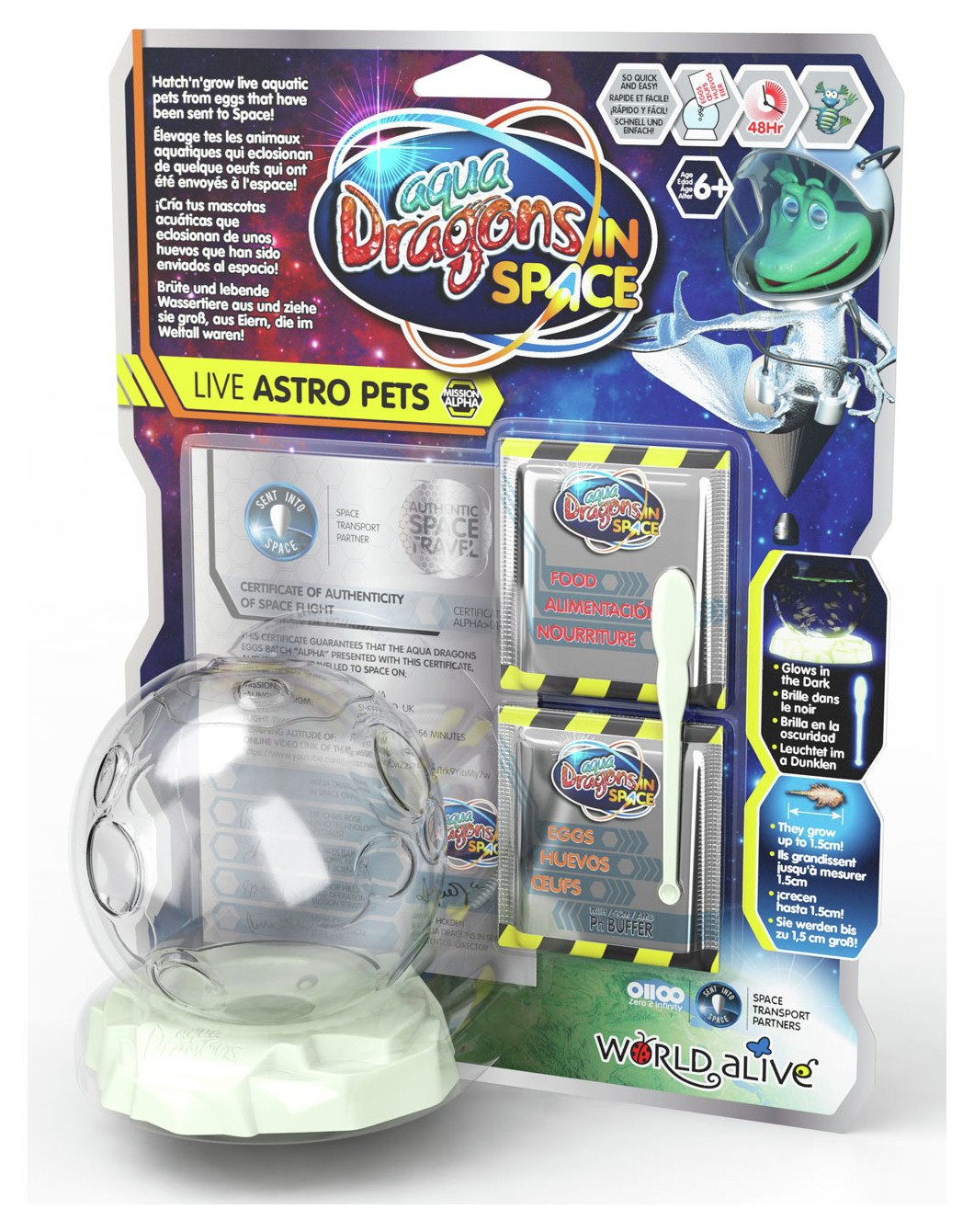 Image of Aqua Dragons Live Astro Pets.