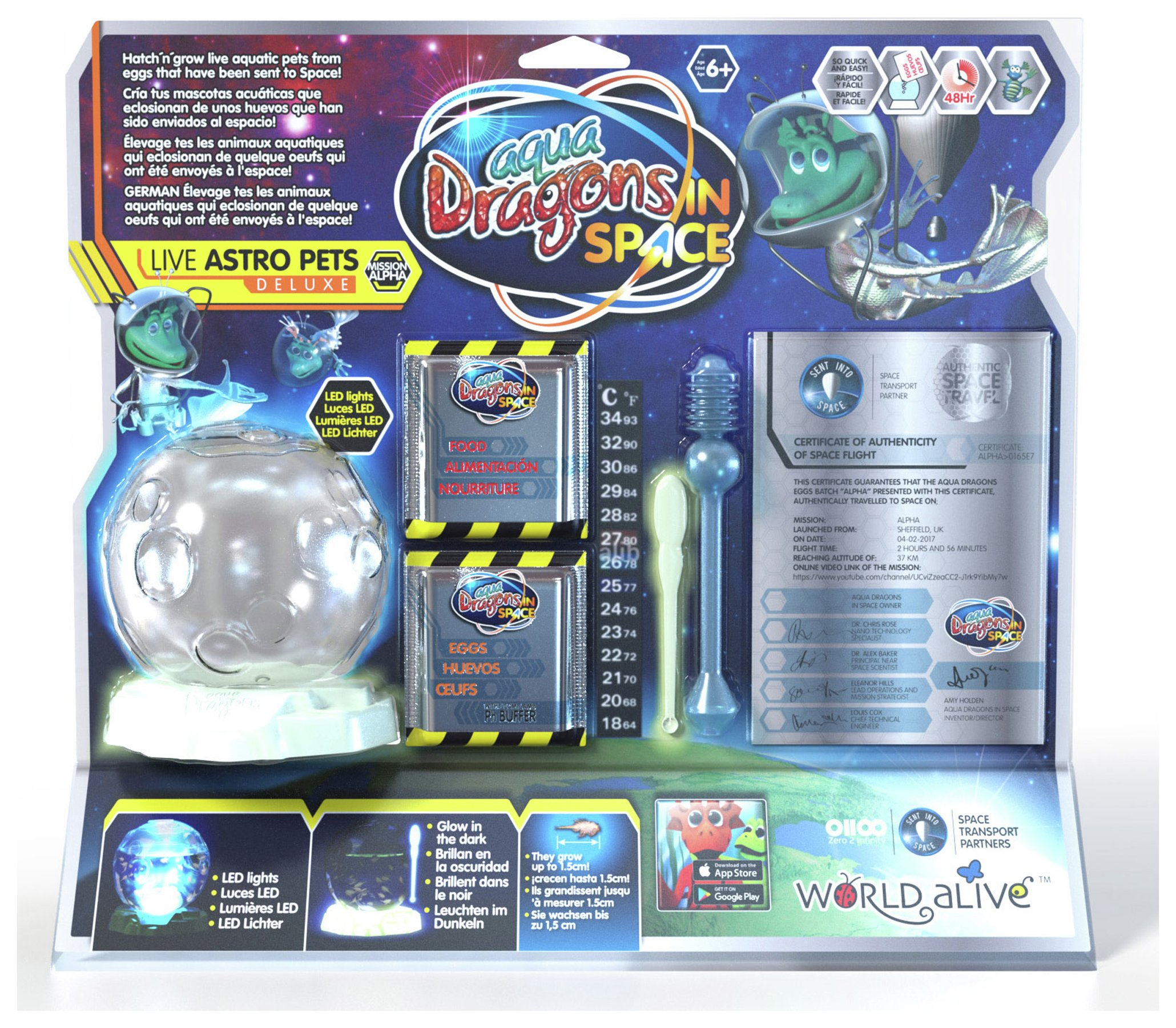 Image of Aqua Dragons Live Astro Pets Deluxe.