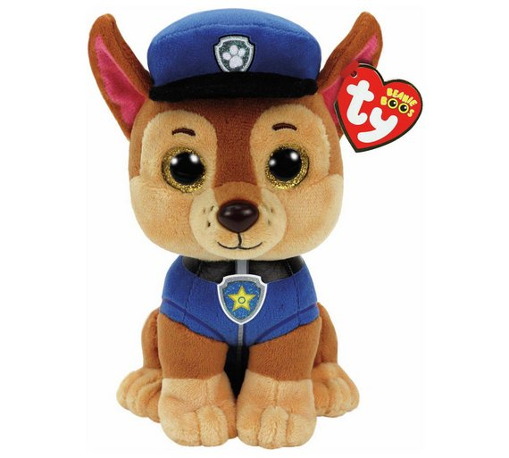 Buy TY PAW Patrol Beanie Boo Soft Toy Assortment  6835f3e3fef