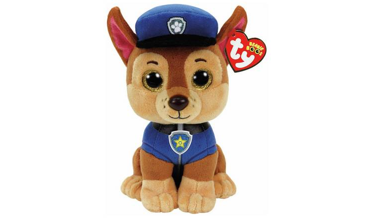 TY PAW Patrol Beanie Boo Soft Toy Assortment