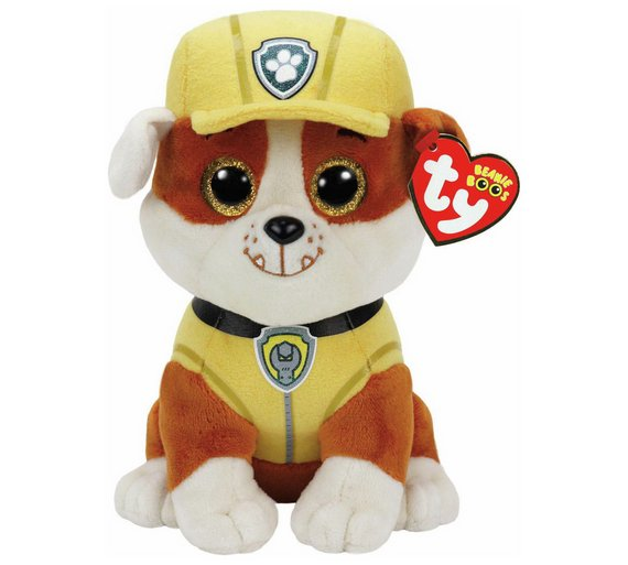 Buy TY PAW Patrol Beanie Boo Soft Toy Assortment  a633978fe97