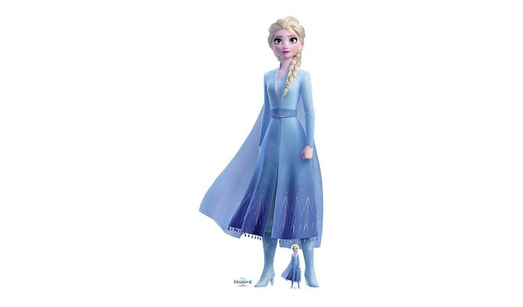 Star Cutouts Disney Frozen Mini Elsa Cardboard Cutout