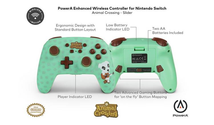 Buy Enhanced Nintendo Switch Wireless Controller Animal Crossing