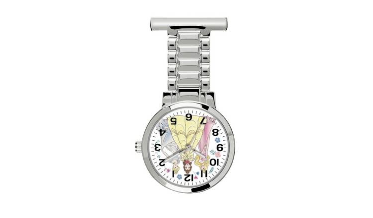 Disney Princess FOB Silver Watch