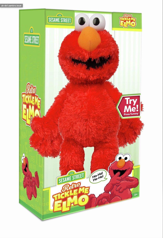 Sesame Street 50th Anniversary Tickle Me Elmo