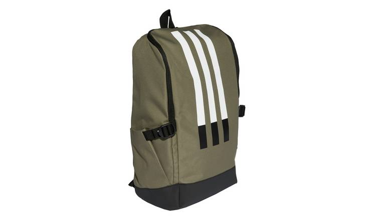 Adidas 3 Stripe Legacy 23.59L Backpack - Green