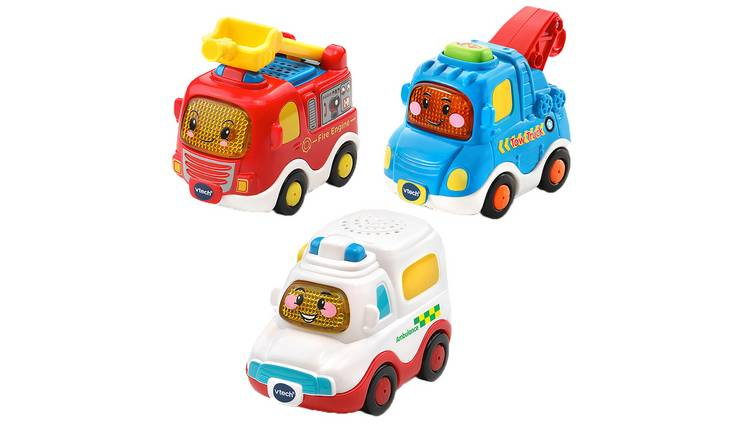 VTech Toot-Toot 3 Pack of Emergency Vehicles
