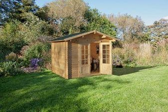 Forest - Garden Bradnor Wooden Log Cabin
