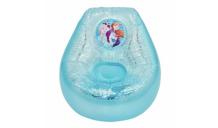 Disney Frozen 2 Inflatable Glitter Chill Chair
