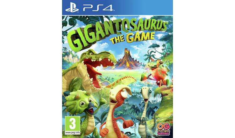Gigantosaurus PS4 Game
