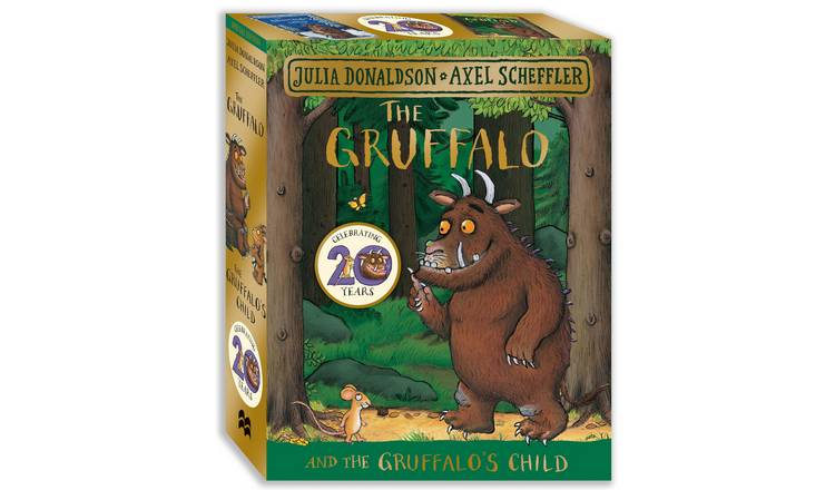 The Gruffalo & The Gruffalo's Child Board Book Gift Set